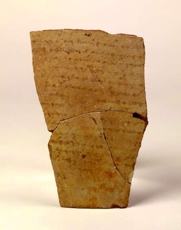 La cerámica que anunció la destrucción de Azeca.