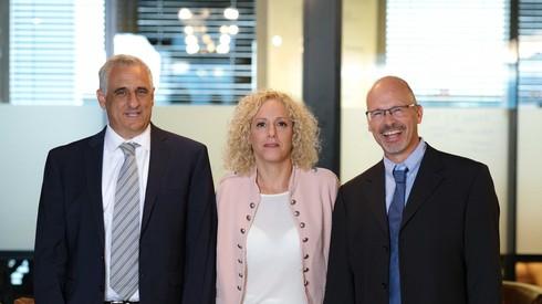 Los fundadores de InnoCan: Ron Mayron, Iris Bincovich e Yoram Drucker.