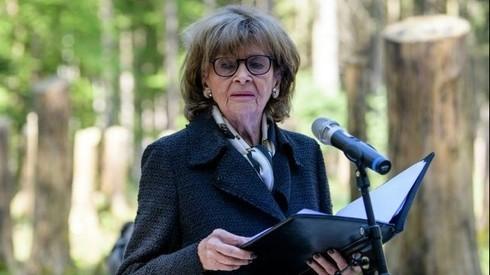 Charlotte Knobloch, ex Presidenta del Consejo Central de Judios en Alemania.