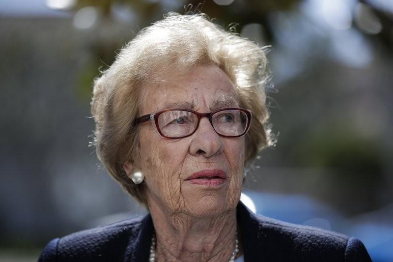 Sobreviviente del Holocausto Eva Schloss.