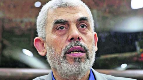 Líder de Hamás en Gaza, Yahya Sinwar.