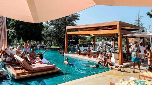 El Club Faqra en el Líbano.