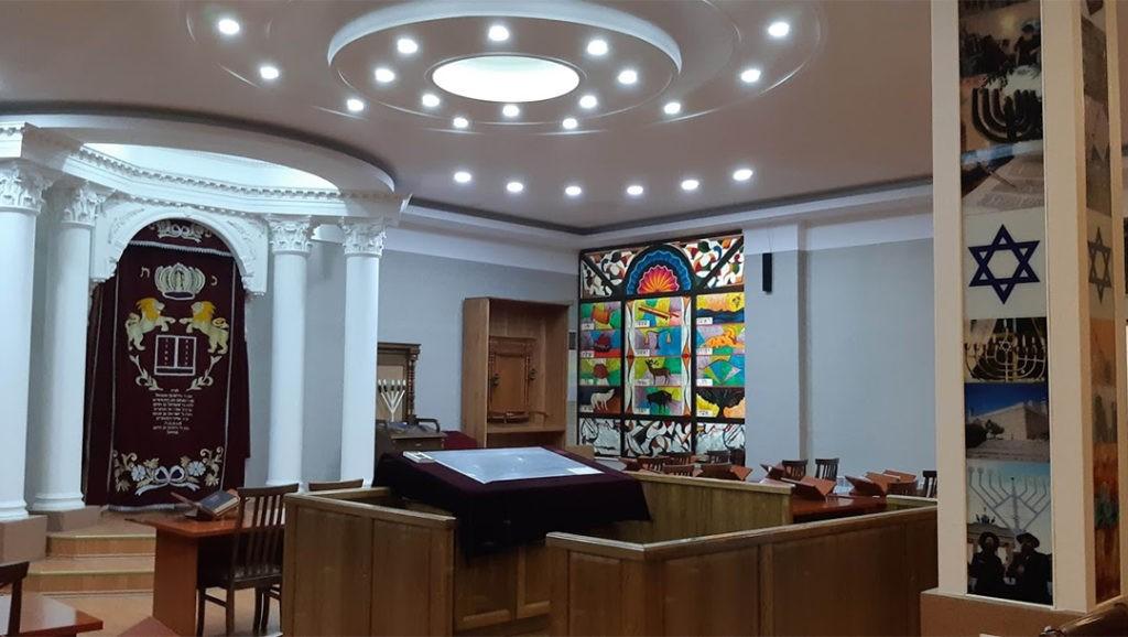 La Sinagoga Ashkenazi de Tashkent, Uzbekistán.
