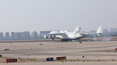 Sobre la pista del aeropuerto Ben Gurion.
