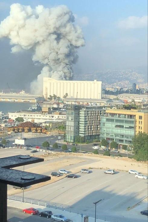 Expllsión en Beirut