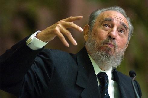 El fallecido líder cubano, Fidel Castro.