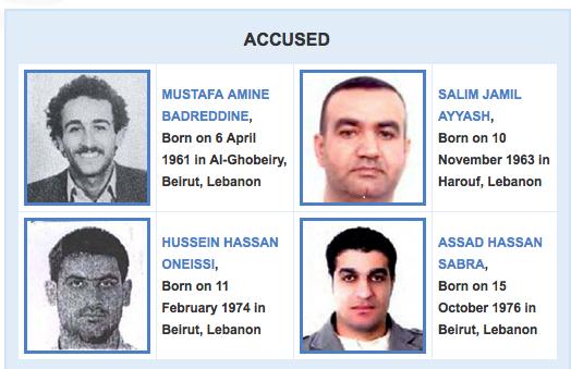 Tres de los cuatro acusados por el asesinato de Hariri fueron absueltos.