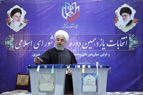 Hassan Rouhani, presidente de Irán.
