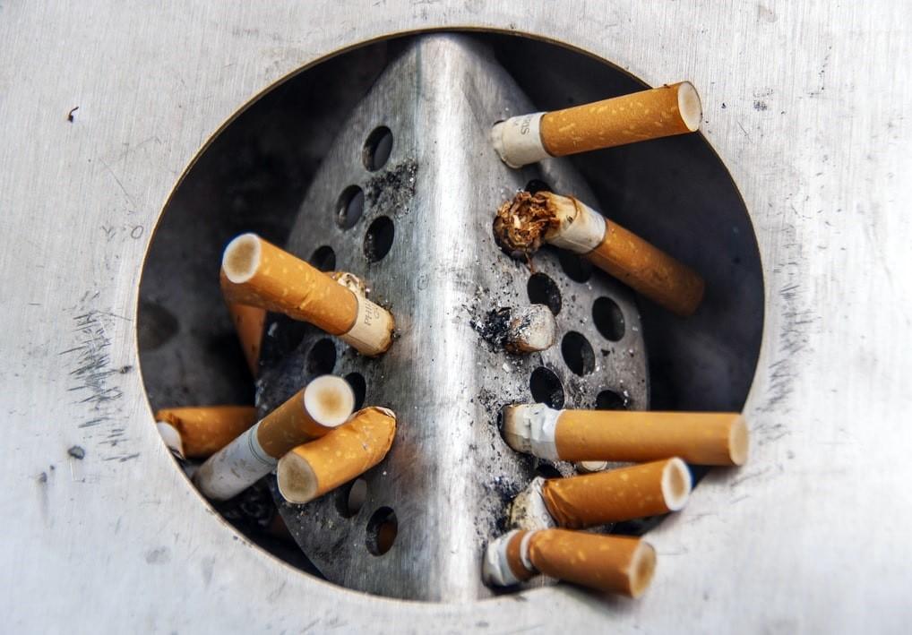 Cigarrillos consumidos.