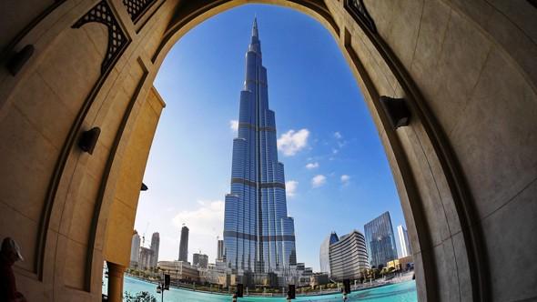 La moderna ciudad de Dubai.