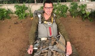 Ronén, cumplió su sueño de ser paracaidista de las FDI.