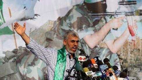 Yahya Sinwar, líder de Hamas en la Franja de Gaza.