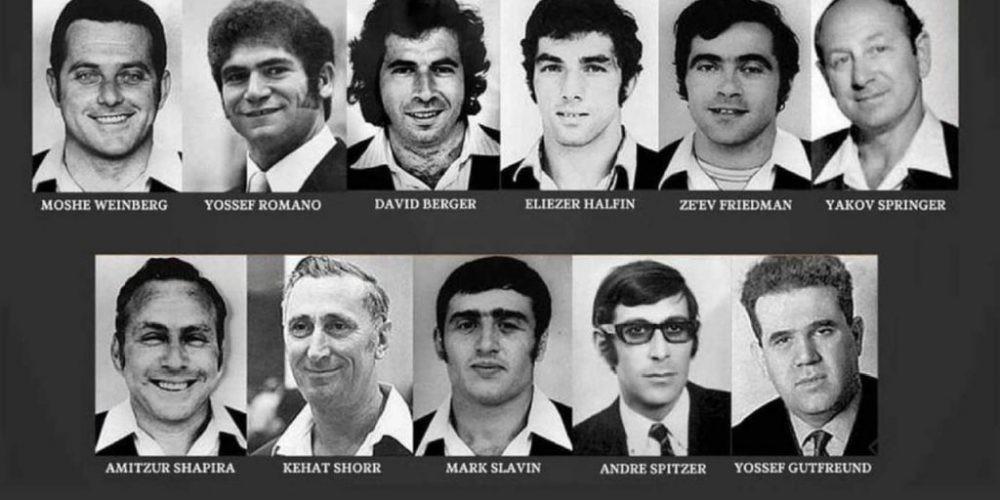 Las 11 víctimas de los terroristas de Septiembre Negro en Munich.