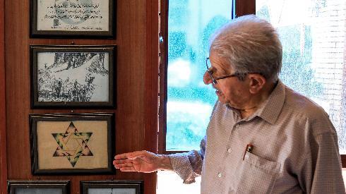 Omar Farhadi, periodista kurdo iraquí que convivió en su infancia con la comunidad judía local.