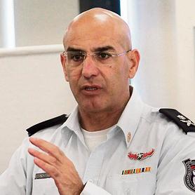 Hezi Levi, comandante del Distrito Costero de Servicios de Bomberos y Rescate.