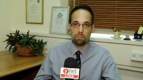 El profesor Ran Balicer, entrevistado por Ynet.