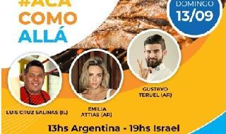 Evento gastronómico Argentina-Israel.