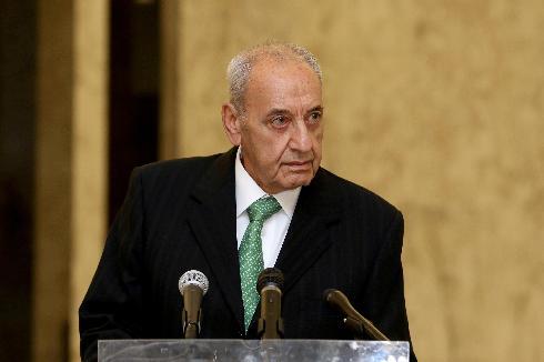 El presidente del parlamento libanés, Nabih Berri.