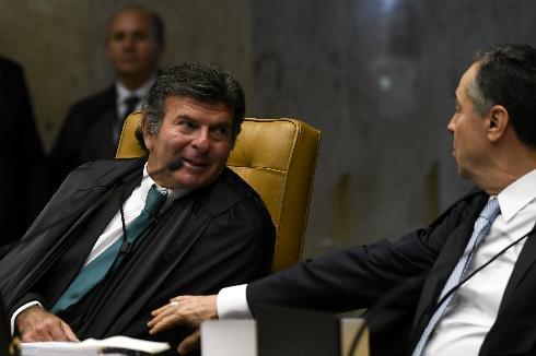 Luis Fux, primer judío en presidir el Tribunal Supremo de Justicia de Brasil.