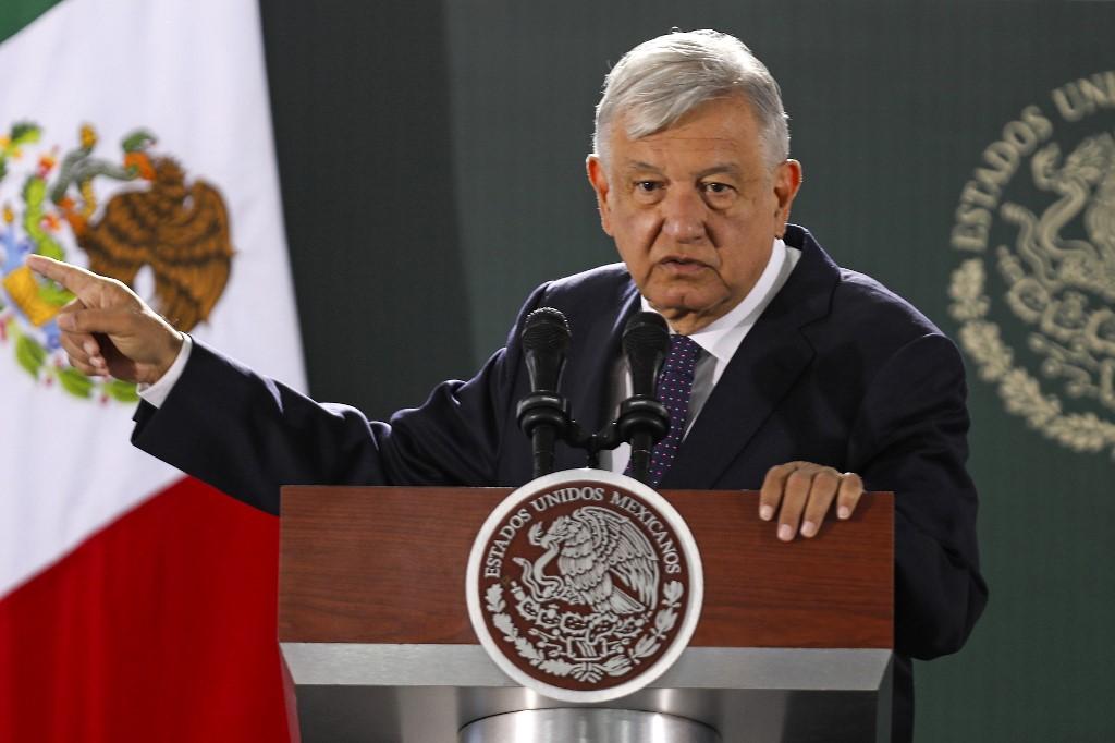 Andres Manuel López Obrador, presidente de México.