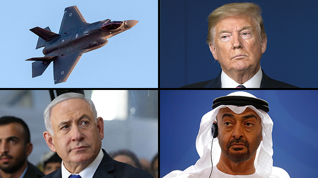 Donald Trump planea vender cazas F-35 a Emiratos a pesar de la oposición israelí.