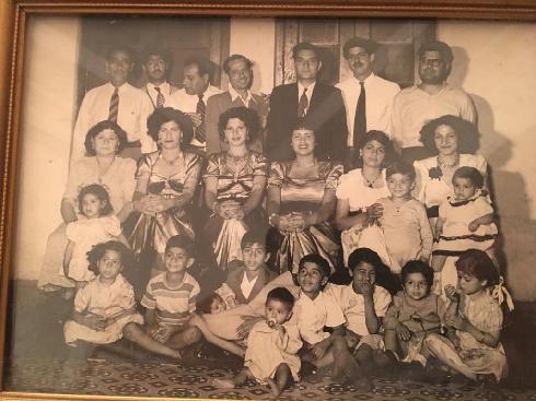 La familia Nonoo en los años 60'.