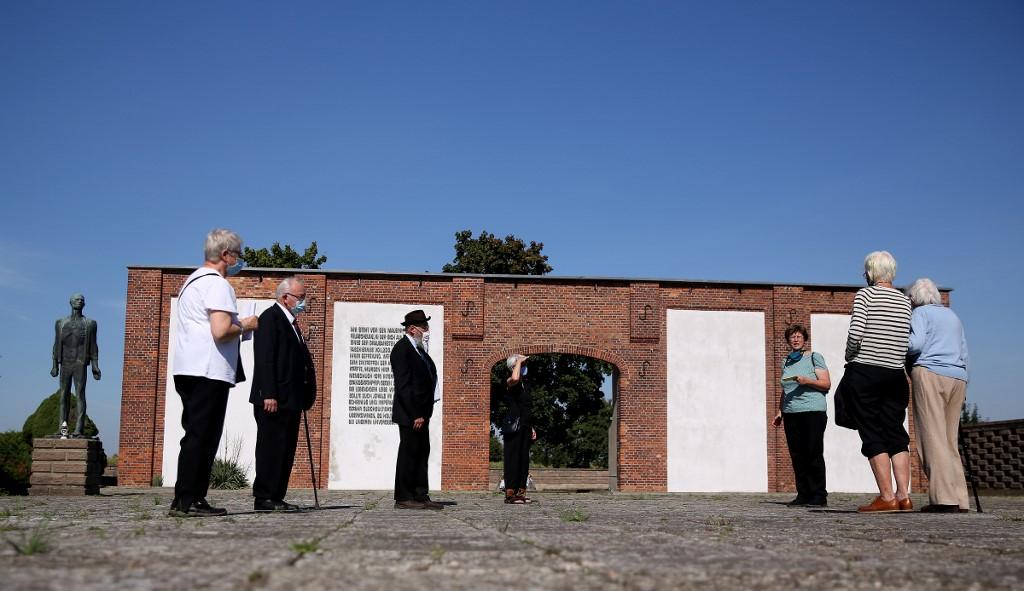 El granero donde se produjo la masacre perpetrada por los nazis.