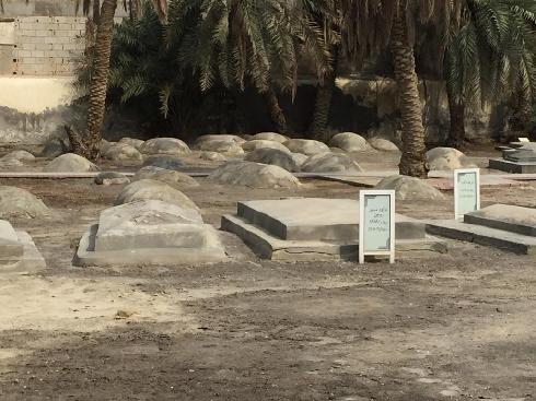 Cementerio judío de Bahrein.