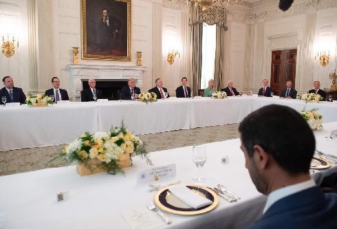 Casa Blanca Cena Acuerdo Abraham