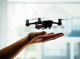 Un drone común.