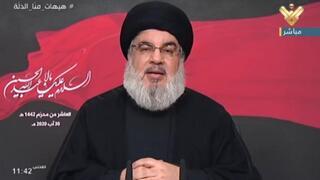 Hassan Nasrallah, secretario general de Hezbollah.