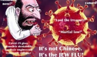 Algunas publicaciones en las redes sociales acusan a los judíos de crear el coronavirus.