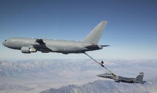 Israel quiere adelantar la compra de aviones Boeing KC-46 Pegasus.