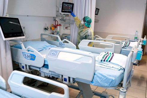 Sala de coronavirus en el Hospital Universitario Samson Assuta en la ciudad sureña de Ashdod.