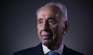 Shimon Peres en 2016.