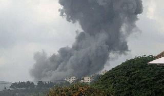 Explosión en el Líbano.