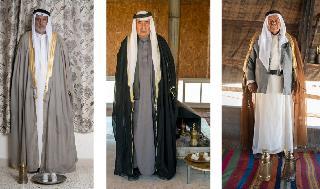 Tres de las fotos que serán parte de la exposición a partir del 29 de octubre. .