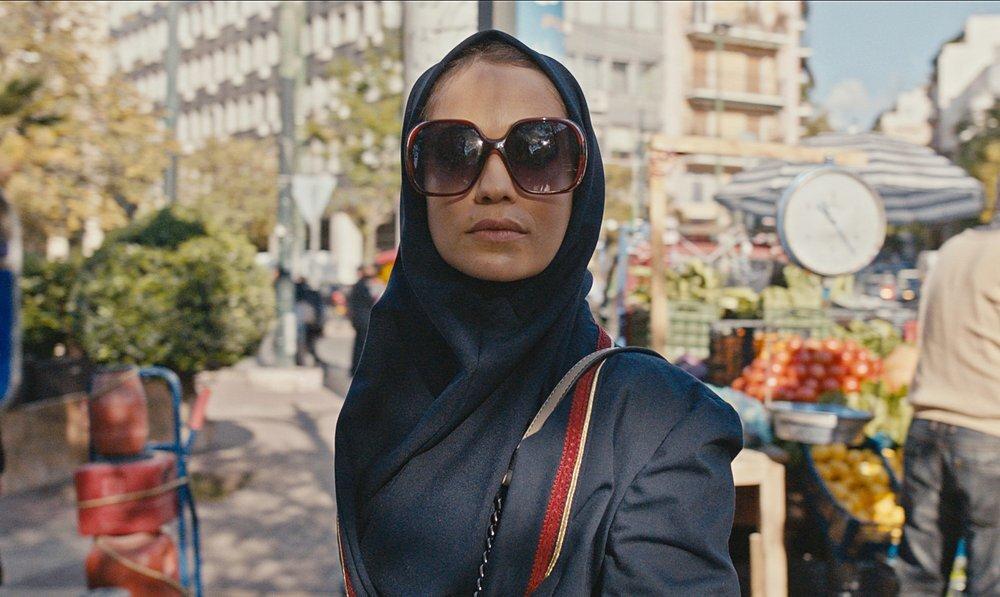 Niv Sultan como Tamar Rabinyan en una escena de Teherán.