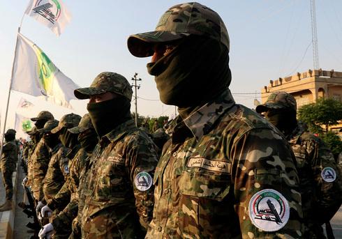 Milicias de movilización popular iraquíes.