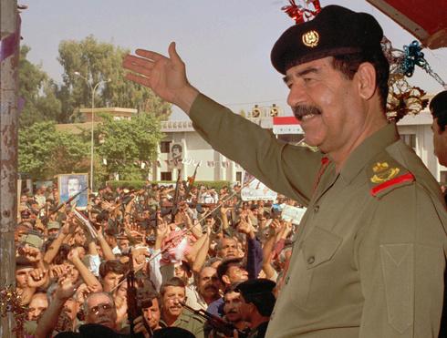 Sadam Hussein, presidente de Irak hasta su derrocamiento en 2003.
