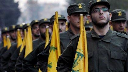 Miembros de Hezbollah.