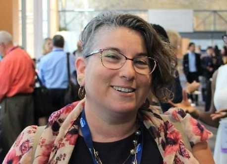 Inbal Faran Perach, enfermera de un programa estatal de asistencia a trabajadoras sexuales.