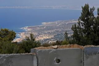 Conflicto por la frontera marítima entre Israel y Líbano.