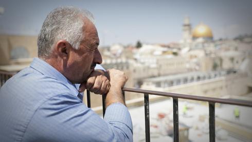 """Fahri Abu-Diab: """"Lo más importante para nosotros es Al-Aqsa. Si ustedes la tocan, tocan mi religión, mis principios y mi fe""""."""