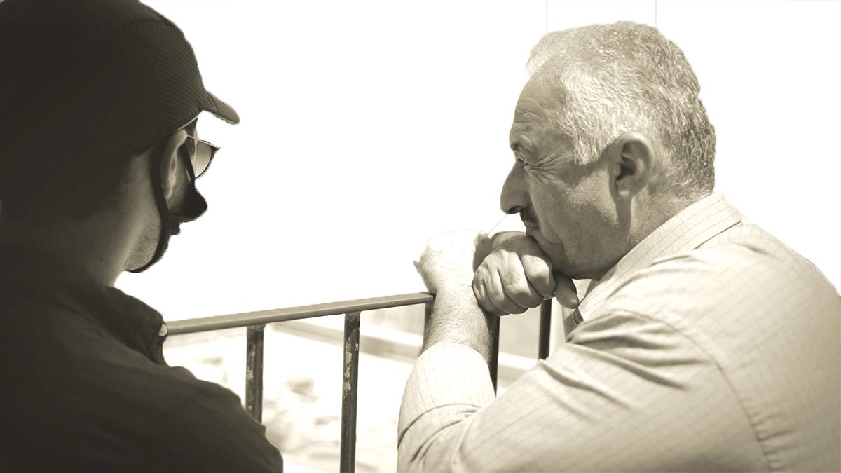 Fahri Abu-Diab y Tom Nissani.