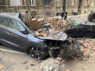Algunos daños del último terremoto acaecido en Zagreb, Croacia, en marzo de este año.