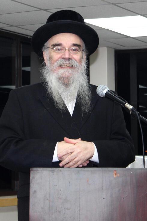 El rabino Avrohom Pinter.
