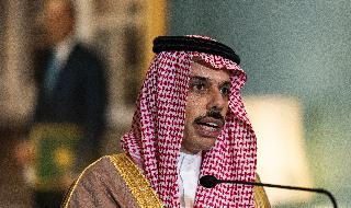 Faisal bin Farhan, ministro de Relaciones Exteriores de Arabia Saudita.