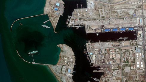 Puerto de Bandar Abbás en Irán.