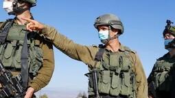 Combatientes de las FDI en la frontera con el Líbano.